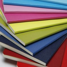 Moleskine Volant Mini Notebook: Pink & Rose are my favorite pair ... I call them my brain books or idea books