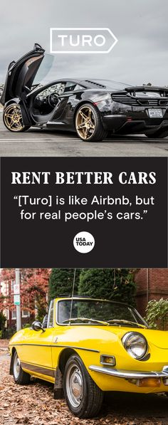Rent a car that's part of the local economy, not a corporate fleet.