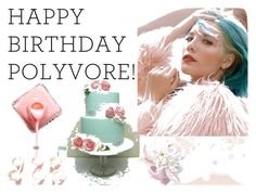 """""""Happy Birthday Polyvore!"""" by dorafashionspace ❤ liked on Polyvore featuring art, contestentry and happybirthdaypolyvore"""