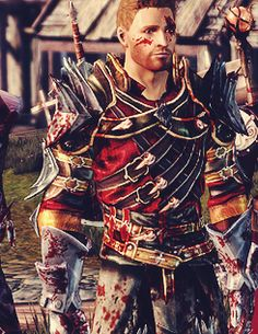 Alistair... in the Champions armour...