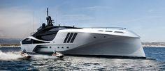 All Carbon Fiber Yacht: The Palmer Johnson SuperSport Jets Privés De Luxe, Luxury Jets, Super Yachts, Speed Boats, Power Boats, Palmer Johnson Yachts, Jet Privé, Yacht Boat, Supersport