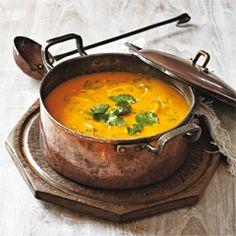 Rezept von James M. Tanner: Karotten-Koriander-Suppe