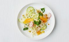 Cabbage, Jicama and Cucumber Salad