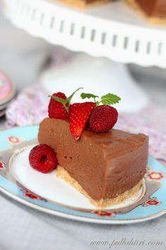 Chocolate Cheesecake, Coffee Time, Sweets, Baking, Desserts, Tea, Food, Flowers, Bakken
