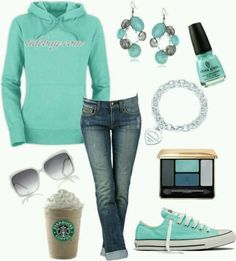 Loving the teal