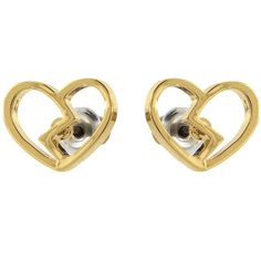 Marc by Marc Jacobs Heart Core Broken Hearted Studs (55 CAD) ❤ liked on Polyvore
