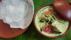 Delicious Appam and Fish Molly