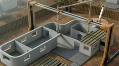 Giant 3D Printer Can Print A House In 24 Hours