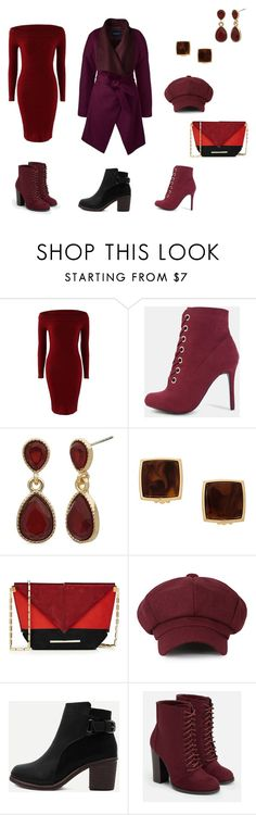 """""""муж.кафе"""" by svetlana555 on Polyvore featuring мода, New Directions, THEATRE PRODUCTS, Roland Mouret, WithChic, JustFab и Lands' End"""