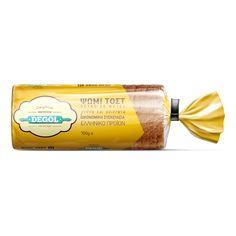 Packaging - Toast bread - Σχεδιασμός συσκευασίας ψωμί τοστ