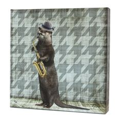 Animal Band: Oliver Otter Print