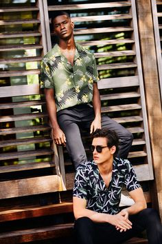 Lines in the Sun | Discover the New Man Summer 18 Collection #leftiesman #summer18 #new