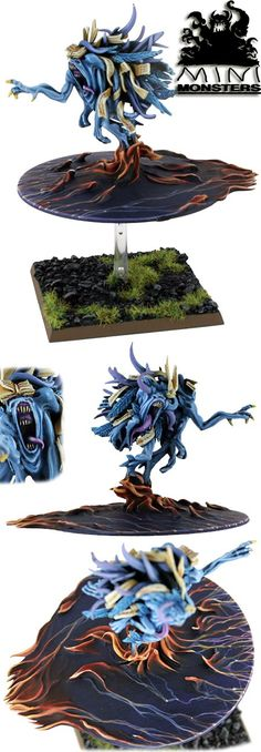 CoolMiniOrNot - Daemons Blue Scribes of Tzeentch Warhammer Models, Warhammer Fantasy, Warhammer 40000, Chaos Daemons, Thousand Sons, Chaos Lord, Fantasy Figures, Fantasy Miniatures, Mini Games