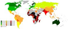 Inequality-adjusted Human Development Index, 2011
