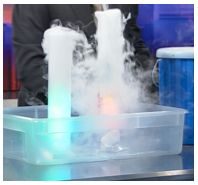 More dry ice experiments. The floating bubble sounds particularly fun to me.