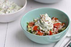 Recept voor parelgort salade - Foody.nl