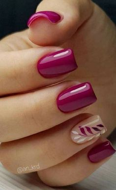 Nails Art Design New Free Idea Current Trends According To Seasons İn Manicure 2019 - Pag. Nails Art Design New Free Idea Current Trends According To Seasons İn Manicure 2019 - Page 30 of 35 , Diy Nails Spring, Nail Designs Spring, Summer Nails, Fall Nails, Nail Art For Spring, Winter Nails, Nail Colors For Spring, Summer Vacation Nails, Spring Design