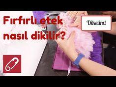 Video: Pratik dikişle tüllü kız çocuk eteği nasıl yapılır? – 10marifet.org Let It Be, Make It Yourself, Youtube, Sewing, Metre, Tutu, Dressmaking, Ballet Skirt, Couture
