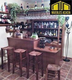 Barra de bar de madera de pino. Table, Furniture, Home Decor, Bar Stand, Pine, Products, Wood, Decoration Home, Room Decor