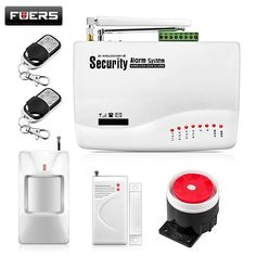 Wireless GSM Alarm System For Home Wireless Security Alarm System with Door Sensor Alarm Systems Security Dual Antenna GSM10A