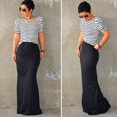 12 Stylish Maxi Skirts You Can Make via Brit + Co.: Mermaid maxi