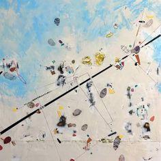 Different Strokes Original Art by Alan Smith - Mecox Gardens Dallas