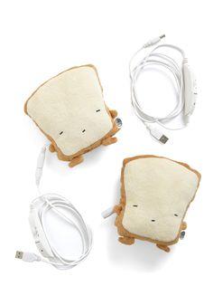 Crust Be Dreaming USB Hand Warmers - Brown, Cream, Solid, Kawaii, Graduation, Top Rated