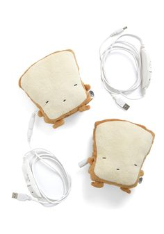 Crust Be Dreaming USB Hand Warmers, #ModCloth