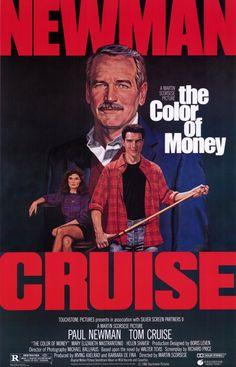 The color of money 1986 Il colore dei soldi di Martin Scorzese con Paul Newman e Tom Cruise