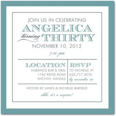 Posh Partition - Adult Birthday Party Invitations - Magnolia Press - Coral - Pink : Front