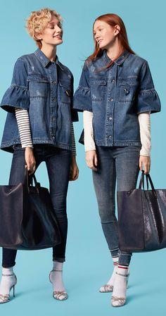 #esprit #denim #blouses