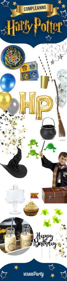 Un compleanno a tema Harry Potter? Ecco come fare! - Idee per feste #harrypotter #festa #compleanno #evviva #hp #happybirthday #ideeperfeste