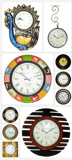 #Fantastic #Unique & #antique looking #wooden_wall_clocks will blend with any #home_decor choice and give your wall a shabby chic feel. These #decorative #wall_clocks make #great_gifts for #weddings, #anniversaries, #house-warming's or any other #occasion.  #Lalhaveli #Wall_Clocks #Wooden_Wall_Clocks #Wedding_Gifts #House_warming_Gifts #Wall_Decor  visit at:-https://www.facebook.com/1880612115552980 http://lalhaveli.in/product/decor-collection/6/wooden-handicrafts/24/wall-clocks/225