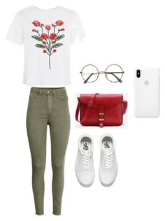 """""""#Casual 2"""" by chavelles on Polyvore featuring Topshop and Vans"""