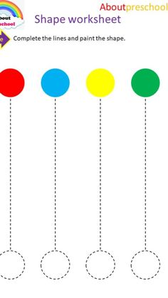 Color Worksheets For Preschool, English Worksheets For Kindergarten, Preschool Writing, Printable Alphabet Worksheets, Toddler Worksheets, Prewriting Skills, Learning English For Kids, Math Workbook, Coding For Kids