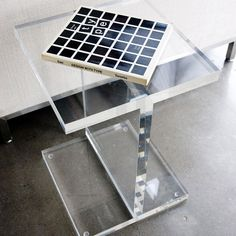 I-BEAM ACRYLIC  TABLE                                                                                                                                                                                 More
