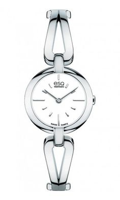 "ESQ ""Corbel"" Woman's Watch. Stainless Steel Quartz Movement at DarcysFineJewelers.com $295"