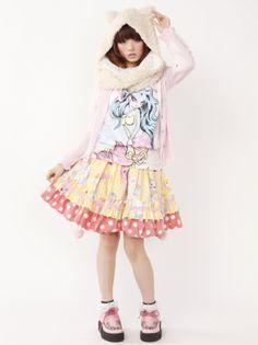 fairy kei, cute skirt