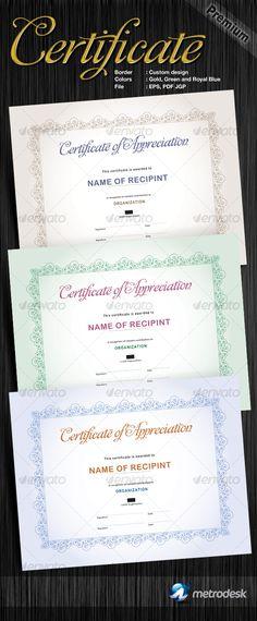 Modern Classy diploma award Certificate Certificate, Template and - copy university diploma templates