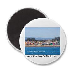 Santa Cruz Beach Boardwalk Magnets at the Cheshire Cat Photo Store on Zazzle.com