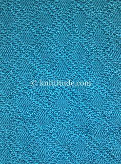 Machine Knitting Tuck Pattern