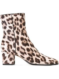 Shop Alexandre Birman leopard pattern ankle boots in Cara from the world's best independent boutiques at farfetch.com. Shop 400 boutiques at one address.