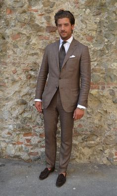 Great brown suit