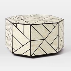 Bone Inlay Coffee Table #westelm