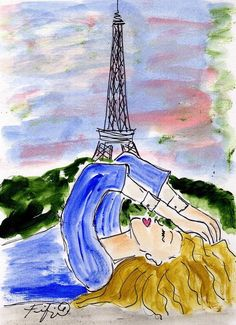Paris Dreaming by Fifi Flowers by marcella