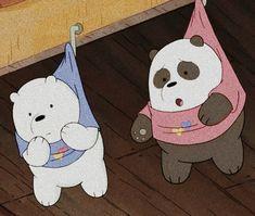 Cute Panda Wallpaper, Bear Wallpaper, Cute Disney Wallpaper, Wallpaper Iphone Cute, Cute Cartoon Wallpapers, Ice Bear We Bare Bears, We Bear, Cartoon Profile Pictures, Cartoon Pics