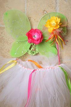 {Kate's Fairy Garden Party} Fabulous Fairy Wings, Tutus & Wands! | The TomKat Studio