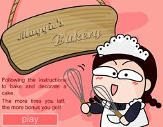Making cakes is fun for any little girl. Though their moms will not allow them to do that in the real world they are able to make cakes in this flash game for girls. It has all the steps of baking a cake and decorating it. When they play this game for girls, girls are …