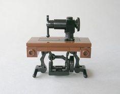 Lego antique Singer sewing machine by mijasper.
