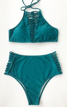Check new beach-wear, only $21.99 & Free Shipping! We are so in love with this solid color bikini! The perfect support fit is a summertime dream!! Cupshe will give you a different summer!